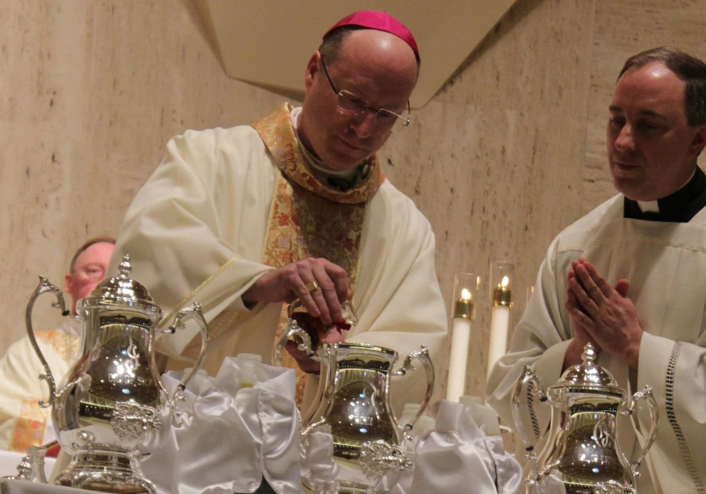 Chrism Mass 2019 at the Cathedral of St. Joseph